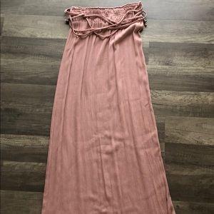 Dresses & Skirts - Long blush pink maxi skirt